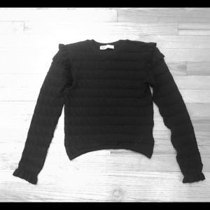 Zara ruffle top
